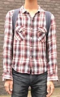 ネルシャツ小①