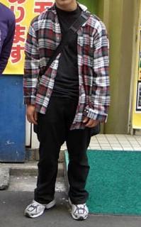 ネルシャツ大①