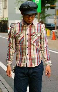 ネルシャツ小②