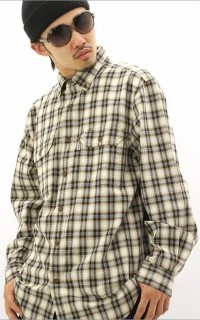 ネルシャツ大②