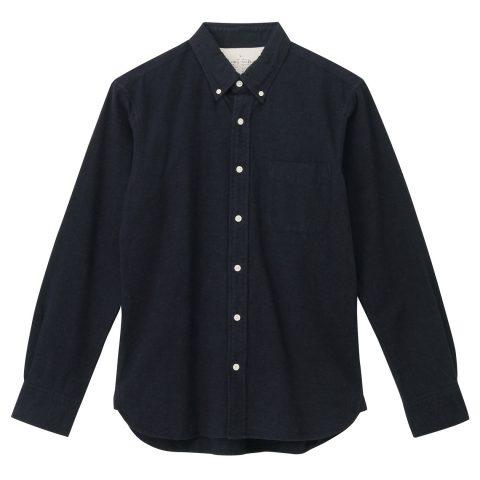 無印良品ネルシャツ